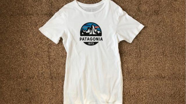 メンズ フィッツロイ スコープ オーガニック Tシャツを1年着た感想【パタゴニア】